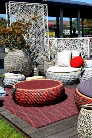 LEEM Wonen Design District outdoor furniture