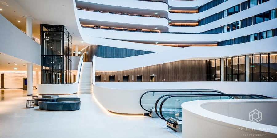 Hilton Hotel Schiphol 3 by Peter Baas