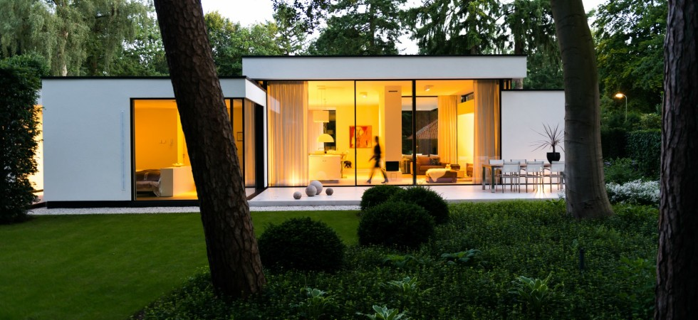 Ontwerp moderne bungalow for Moderne bungalow architectuur