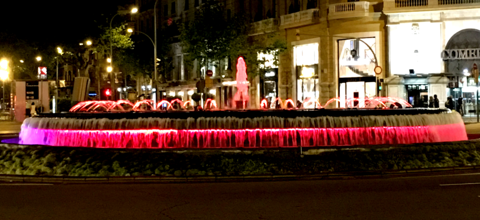 LEEM Wonen Barcelona city fountain