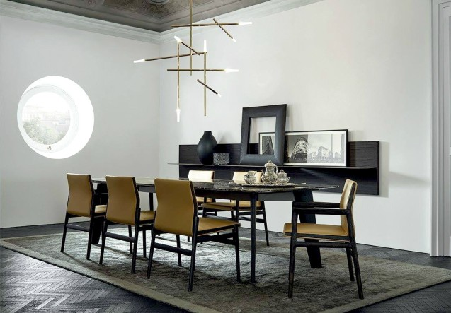 LEEM Wonen Poliform eettafel dining table