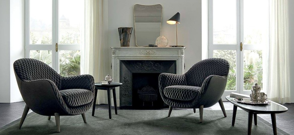 LEEM Wonen Poliform interieur lounge chair