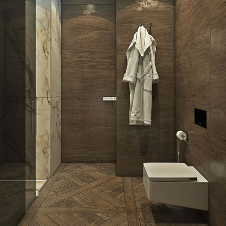 LEEM Wonen chic appartement bathroom