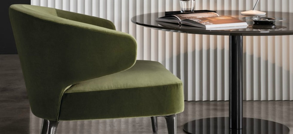 LEEM Wonen wild forest Noort Interieur Minotti lounge chair Aston