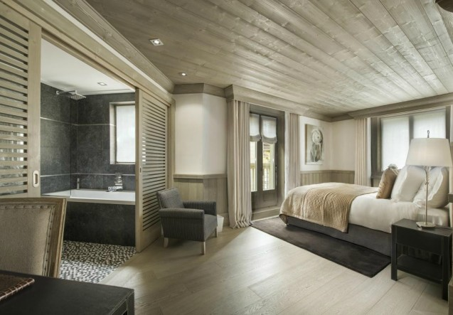 LEEM Wonen wintersport Val d'Isère White Pearl bedroom