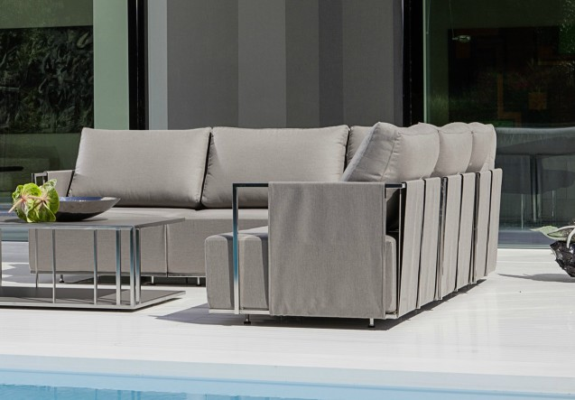 LEEM Wonen outdoor trends Fischer Möbel sofa