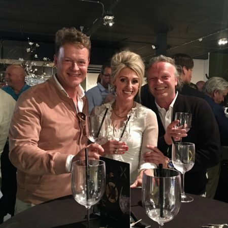 LEEM WONEN Inside Blinds Gin Tasting cheers