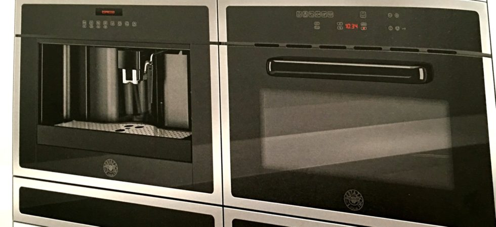 LEEM WONEN Interview Bertazzoni electric oven and coffee
