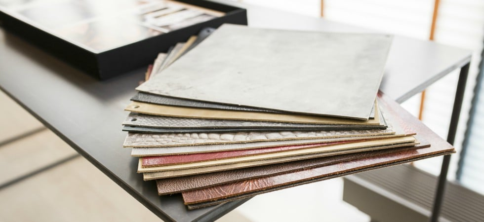 LEEM WONEN BVO Vloeren en Alphenberg Leather showroom samples