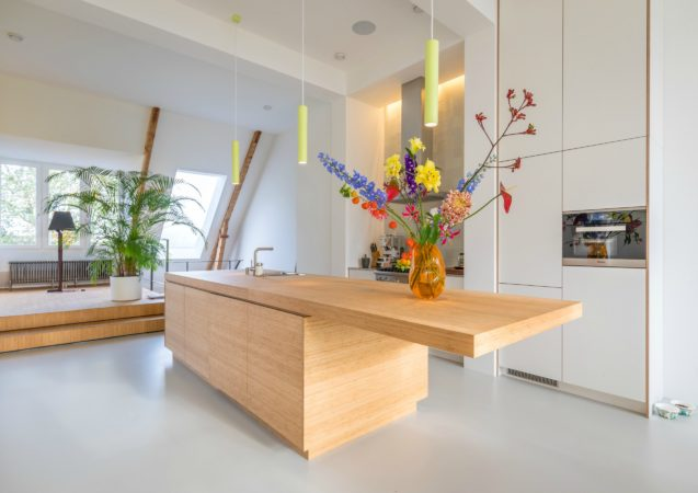 LEEM WONEN lofts Amsterdam kitchen