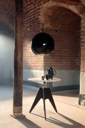 LEEM WONEN Tom Dixon Screw Table Copper Black