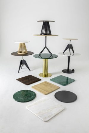 LEEM WONEN Tom Dixon Tables Mix and Match