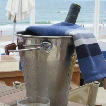 LEEM WONEN Beach Club Blue Cargo champagne