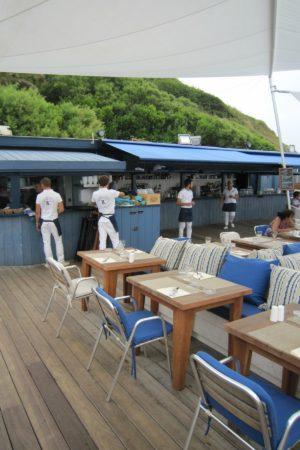 LEEM WONEN Beach Club Blue Cargo crew