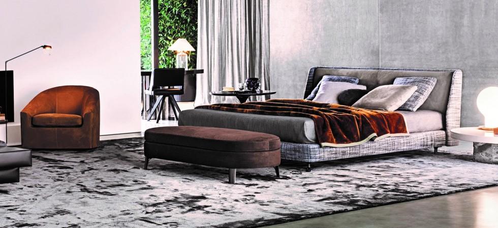 Mia Colore top designers Minotti