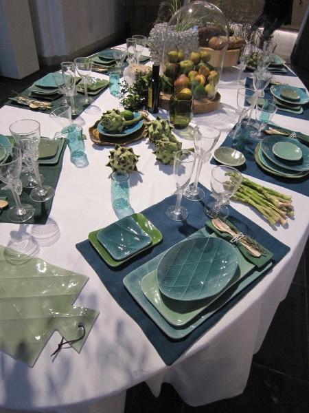 LEEM Wonen Sfeerbeurs La Table Fifty Shades of Green