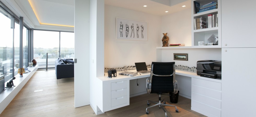Penthouse Den Haag Marco van Zal 14 werkplek