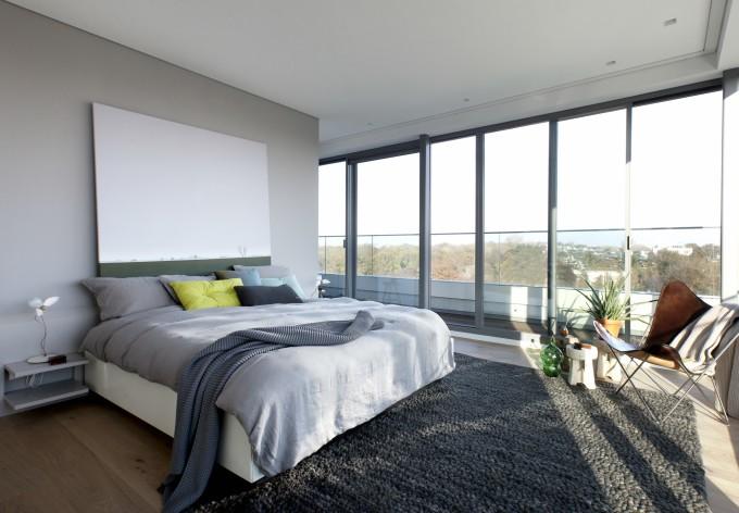 Penthouse Den Haag Marco van Zal slaapkamer