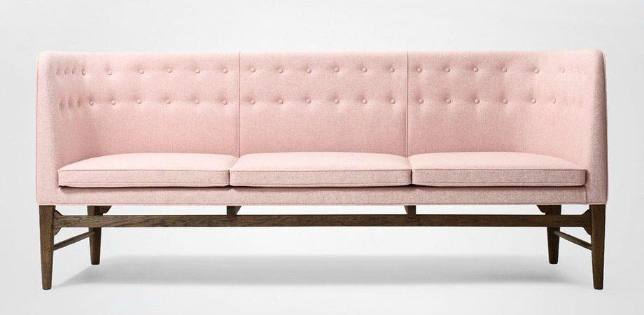 Pink Blossom Sofa Moroso pastel kleuren