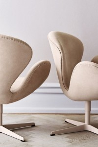 Soft Spring Swan Chairs