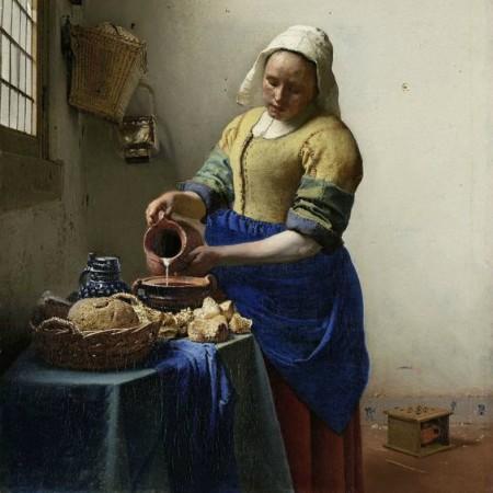 De Melkmeid Vermeer meesters Tefaf Maastricht