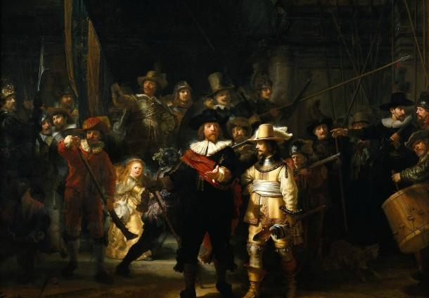 De Nachtwacht meesters Rembrandt Tefaf Maastricht