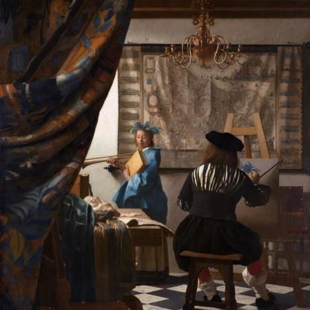 De Schilderkunst meesters Vermeer Tefaf Maastricht