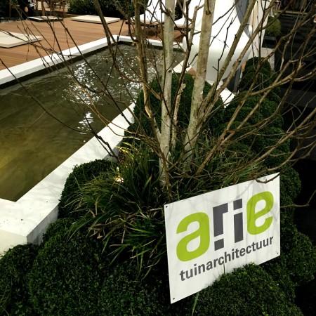 LEEM Wonen Beurs Eigen Huis exposanten Arie Tuinarchitectuur zwemvijver