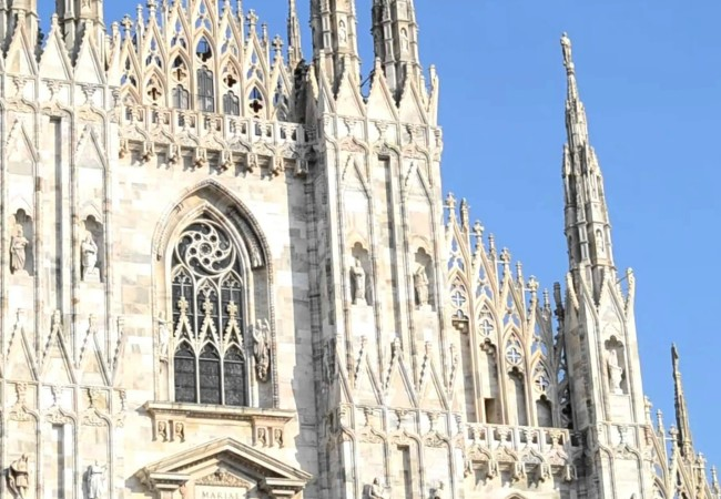 Milano Duomo Santa Maria Nascente