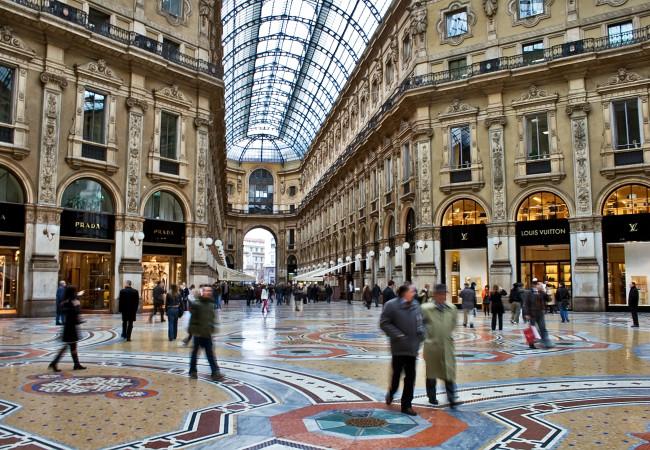 Milano Galleria Vittorio Emanuelle II