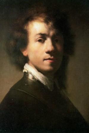 Zelfportret meesters Rembrandt van Rijn