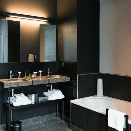 Blogtour Gelderland Kroondomein Hotel De Echoput badkamer Ontwerpgeheimen
