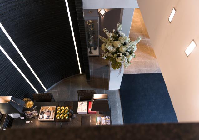 Blogtour Gelderland Kroondomein Hotel De Echoput receptie 2 Ontwerpgeheimen