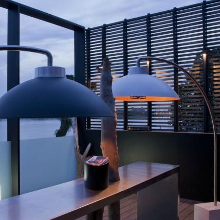 DOME by heatsail lamp heater buiten genieten