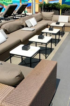 LEEM Wonen Barcelona Hotel Majestic lounge