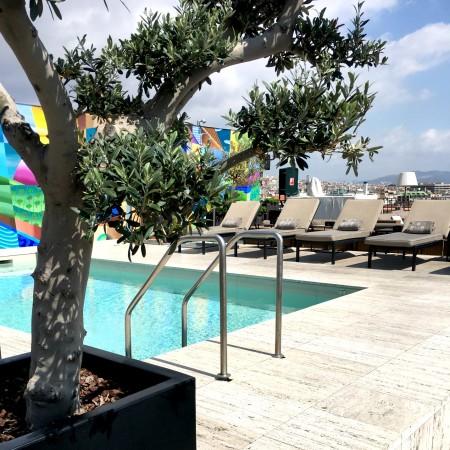 LEEM Wonen Barcelona Hotel Majestic pool