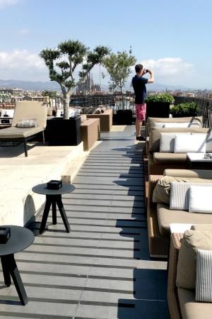 LEEM Wonen Barcelona Hotel Majestic view