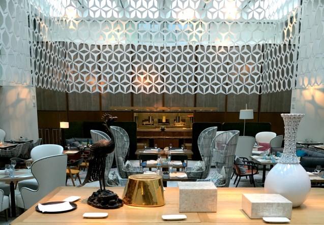 LEEM Wonen Barcelona Hotel Mandarin Michelin restaurant