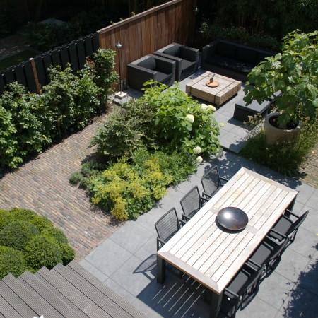 Biesot Tuinen en Parken stadstuin trap