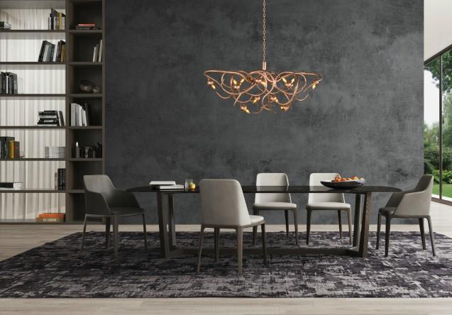 LEEM Wonen Belafonte Eve chandelier Brand van Egmond