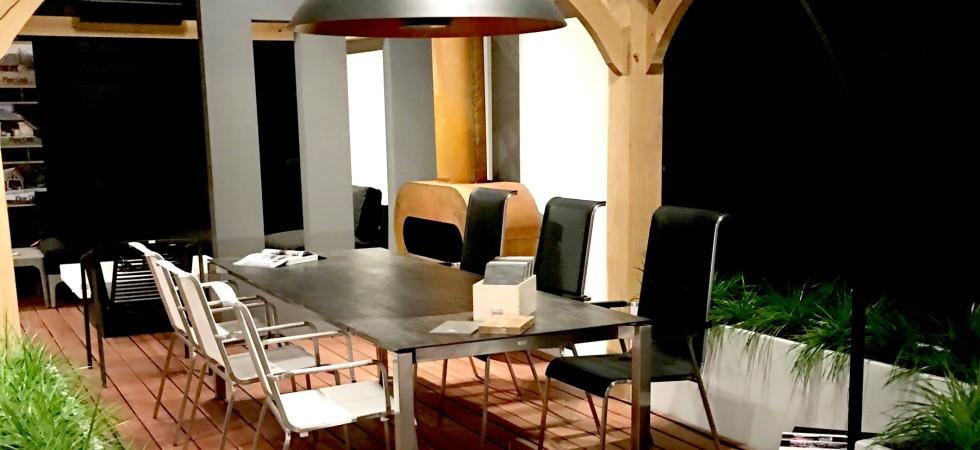 LEEM Wonen HaWe Outdoor meubelen showroom