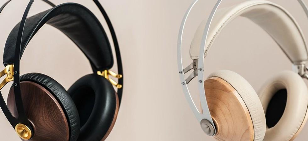LEEM Wonen headphones Meze 99 Classics Dune Blue