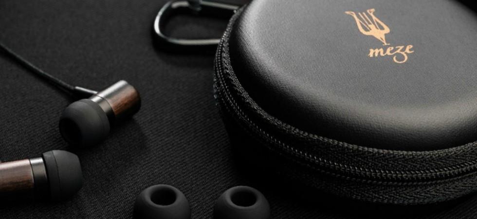 LEEM Wonen headphones earplugs Meze 99 Classics Dune Blue