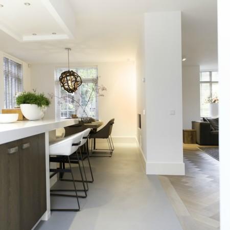 Metamorfose jaren '30 woning Boxxis Architecten open keuken