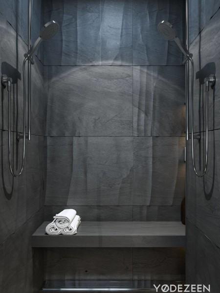 Yodezeen donkere chique badkamers 6