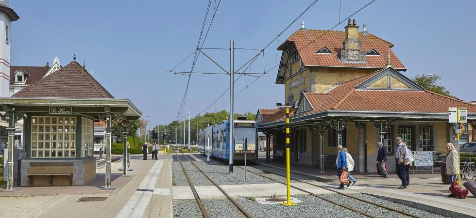 Belgische Kust De Haan tram