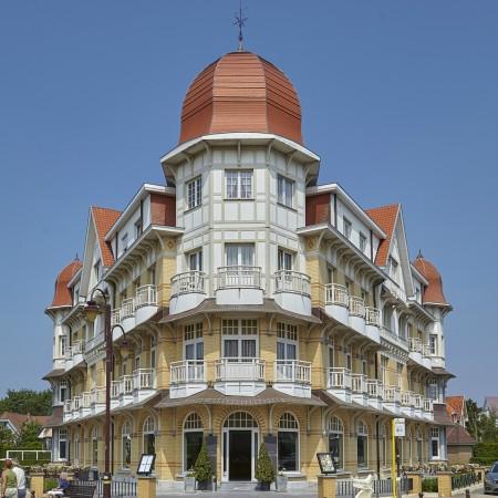 Belgische kust De Haan architectuur