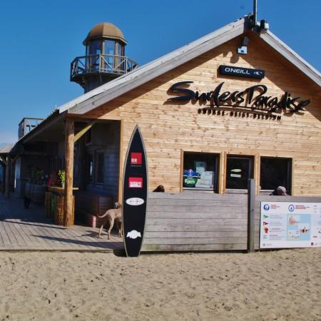 Belgische kust Knokke Surfers Paradise