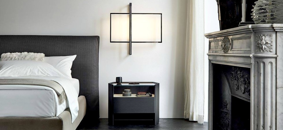 LEEM Wonen Poliform bed lighting