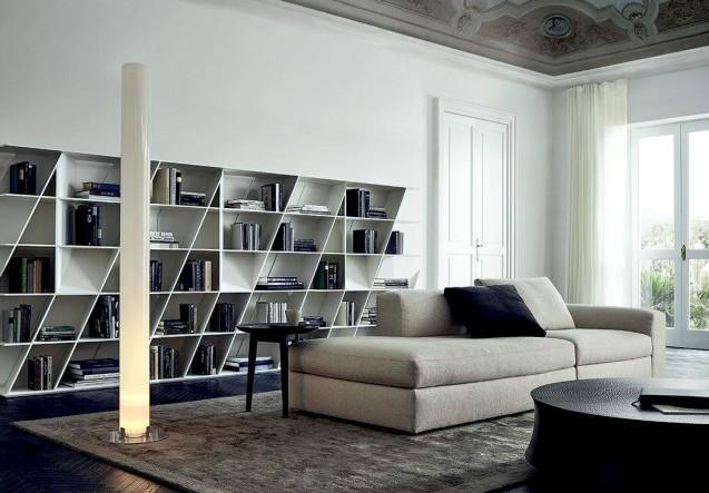 LEEM Wonen Poliform boekenkast bookcase